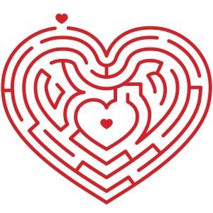 Heart Maze